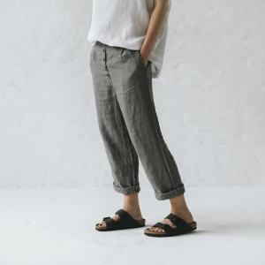 Linen trousers XS/S